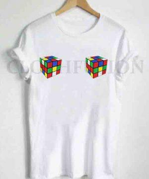 Unisex Premium Rubic Box T shirt Design Clothfusion