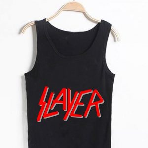 Unisex Men Women Slayer Logo Tanktop Tank Top