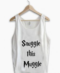 Unisex Men Women Snuggle This Muggle Tanktop Tank Top