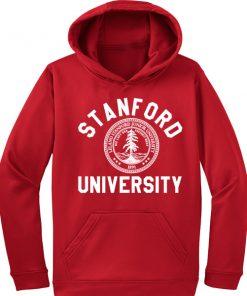 Stanford University Logo Red Adult Fashion Hoodie Apparel