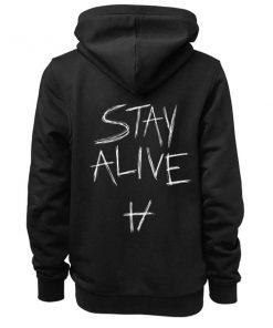 Stay Alive Twenty One Pilots Adult Fashion Hoodie Apparel