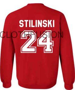 Unisex Crewneck Sweatshirt Stilinski 24 Red Design Clothfusion