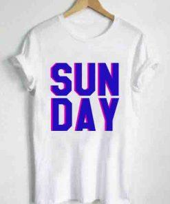 Unisex Premium Sunday Quotes Logo T shirt Design Clothfusion