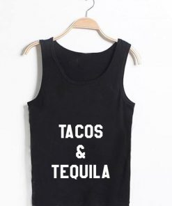 Unisex Men Women Tacos And Tequila Tanktop Tank Top