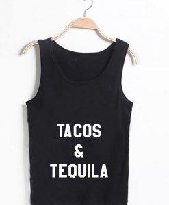 Unisex Men Women Tacos And Tequila Tanktop Tank Top