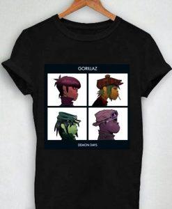 Unisex Premium The Gorilaz T shirt