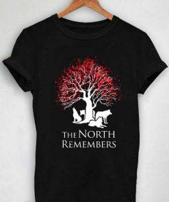 Unisex Premium The North Remembers T shirt Design