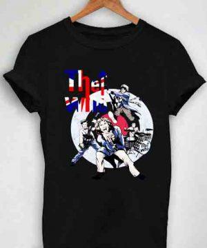 Unisex Premium The Who Logo Cute T shirt Design Clothfusion