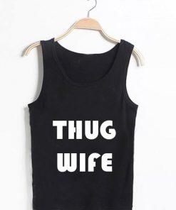 Unisex Men Women Thug Wife Logo Tanktop Tank Top