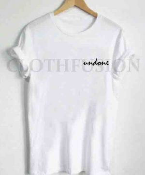 Unisex Premium Undone Script Logo T shirt Design Clothfusion