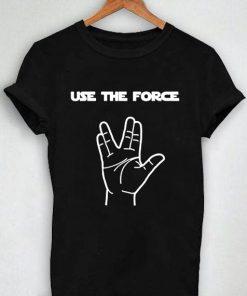 Unisex Premium Use The Force Logo T shirt Design