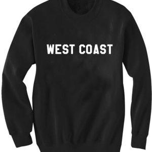 Unisex Crewneck Sweater West Coast Sweatshirts