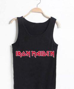 Unisex Men Women Iron Maiden Logo Tanktop Tank Top