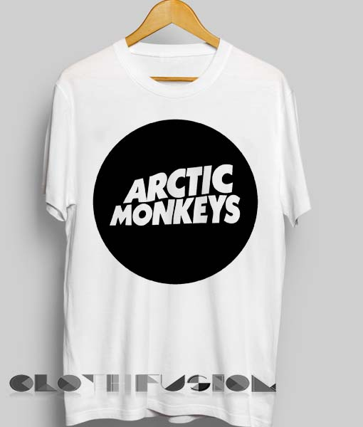 0b895720 Unisex Premium Arctic Monkeys T shirt Logo Design Clothfusion