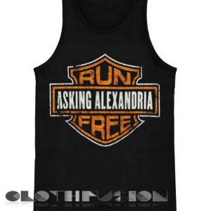 18a21d547c01f Unisex Men Women Asking Alexandria Logo Tanktop Tank Top
