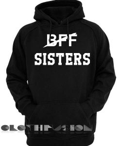 BFF Sisters Logo 2 Adult Fashion Hoodie Apparel Clothfusion