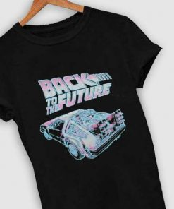 Unisex Premium Back To The Future Logo T shirt Design Clothfusion