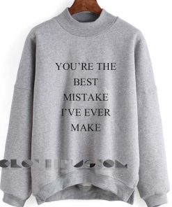 Unisex Crewneck Sweatshirt Best Mistake Design Clothfusion