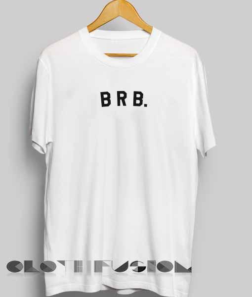 4fd5036cff Unisex Premium Brb Logo Simple T shirt Design Clothfusion