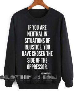 Unisex Crewneck Sweatshirt Desmond Tutu Quotes Design Clothfusion