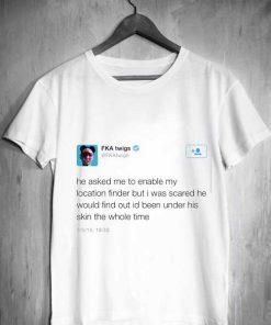 Unisex Premium Fka Twigs Quotes T shirt Design Clothfusion