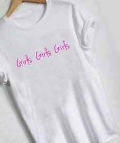 Unisex Premium Girls Logo Pink T shirt Design Clothfusion
