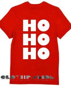 Unisex Premium Hohoho Christmas T shirt Design Clothfusion