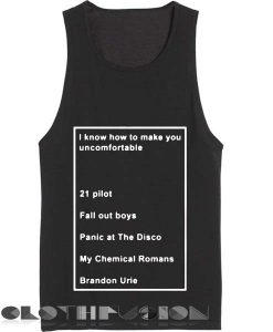 Unisex Men Women I Know How To Make You Quotes Tanktop Tank Top