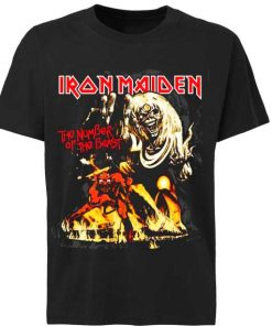 Unisex Premium Iron Maiden New Logo T shirt Design Clothfusion
