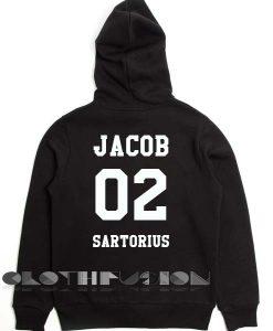 Jacob 02 Sartorius Adult Fashion Hoodie Apparel Clothfusion