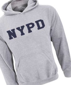 NYPD Logo Adult Fashion Hoodie Apparel Clothfusion