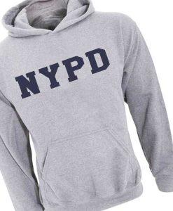 NYPD Logo Adult Fashion Hoodie Apparel Clothfusion