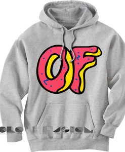 Of Logo Donut Adult Fashion Hoodie Apparel Clothfusion
