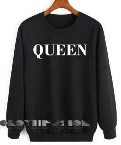 Unisex Crewneck Sweatshirt Queen Logo Simple Clothfusion