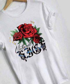 Unisex Premium Roses Logo White T shirt Design Clothfusion