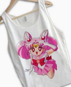 Unisex Men Women Sailormoon Kawaii Tanktop Tank Top