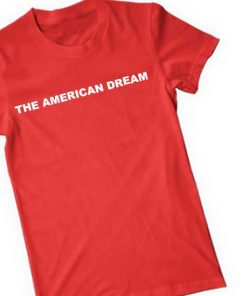 Unisex Premium The American Dream T shirt Design Clothfusion