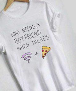 Unisex Premium Who Needs A Boyfriend T shirt Design Clothfusion
