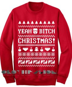 Unisex Crewneck Sweatshirt Yeah Bitch Christmas Sweater Design