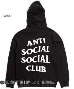 Anti Social Social Club Hoodie Unisex Premium Clothing Design