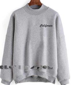Unisex Crewneck California Sweater Logo Design Clothfusion