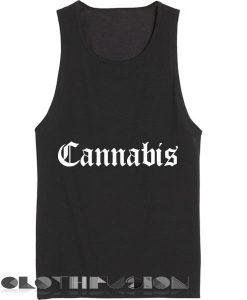 Unisex Men Women Cannabis Logo Tanktop Tank Top