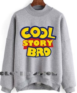Unisex Crewneck Sweatshirt Cool Story Bro Design Clothfusion