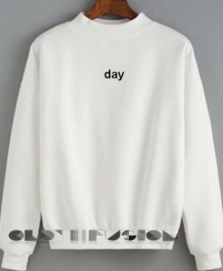 Unisex Crewneck Day Sweater Logo Design Clothfusion