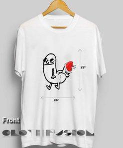 Unisex Premium Dickbutt Christmas T shirt Design Clothfusion