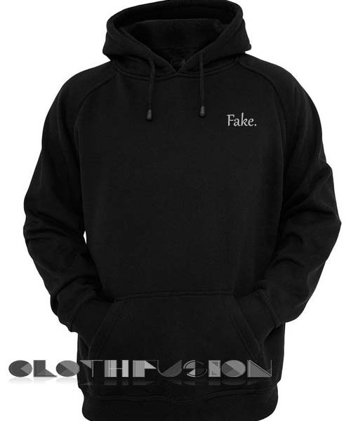Fake Logo Hoodie Unisex Premium Clothing Design