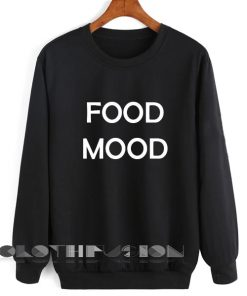 Unisex Crewneck Sweatshirt Food Mood Design Clothfusion