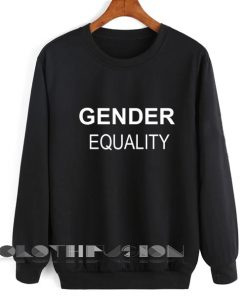 Unisex Crewneck Sweatshirt Gender Equality Design Clothfusion