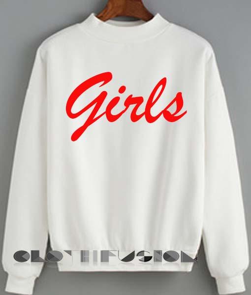 Unisex Crewneck Girls Sweater Logo Design Clothfusion 4ea04a7c6