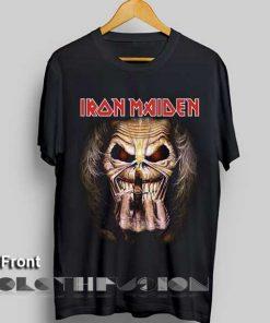 Unisex Premium Iron Maiden T shirt Candle Design Clothfusion